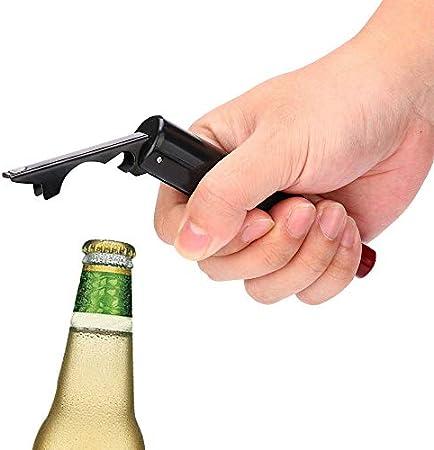 FSJIANGYUE CORKSCRECHO 1 PC APERTURADOR 2 en 1 Abrelaje Creativo Vino Sacacorchos Camarero Botella de Cerveza Dual Uso Cap Abreer Precio Práctico