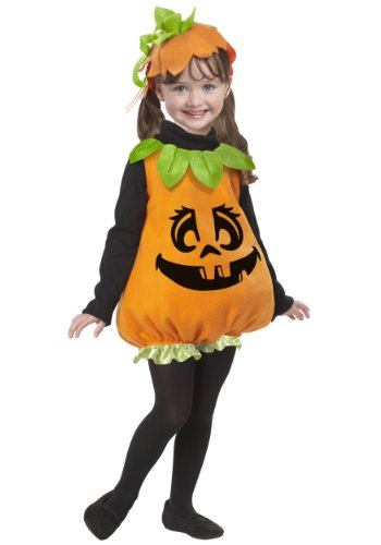 Pumpkin Girl Toddler Costume - Baby (Walmart Baby Costumes)