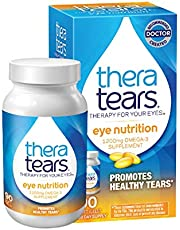 TheraTears Eye Nutrition Omega 3 Supplements