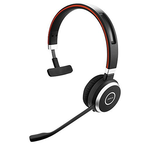 Usb Headset Bluetooth System (Jabra Evolve 65 Mono UC & Link 370 - Professional Unified Communicaton Headset)