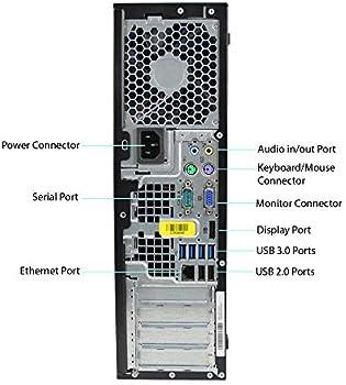Hp Compaq Elite 8300 Sff Core I7 2600 3 4ghz 16gb Ram 240gb Solid State Drive Dvdrw Windows 10 Pro 64bit Renewed Computers Accessories