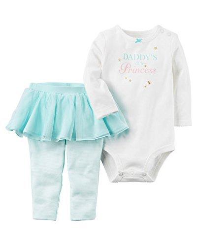 Carter's Baby Girls' 2 Piece Bodysuit & Tutu Pants Set 24 Months