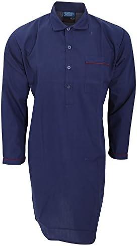 メンズ 無地 長袖パジャマトップス パジャマシャツ トップス ナイトウェア ルームウェア 男性用