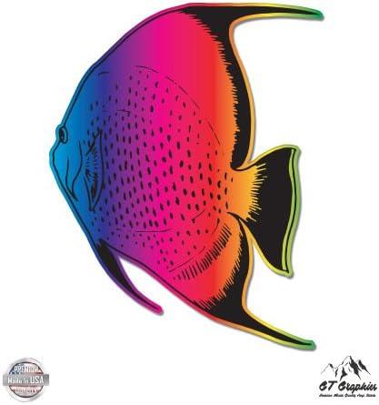 GT Graphics Jesus Fish Black Vinyl Sticker Waterproof Decal
