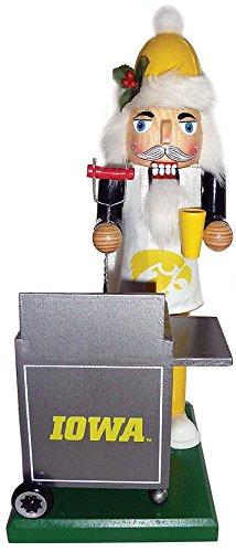 - Santas Workshop IAH060 12 in. Iowa Hawkeyes Tailgating Nutcracker