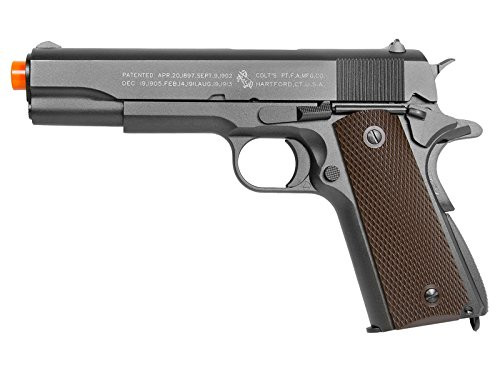 Colt 100Th Anniversary 1911 Co2 Full Metal Airsoft Pistol, 6mm (Co2 Airsoft Metal Pistols)