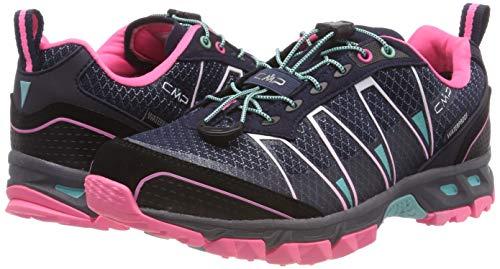De Fluo Atlas 98bd pink Trail Chaussures Cmp a Femme Bleu navy marina w4a8xqxB