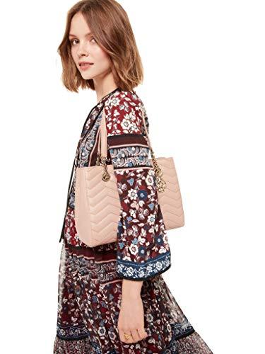 Bag Leather Tea Shoulder Kate Ginger Quilted Spade wnqxTCESI0
