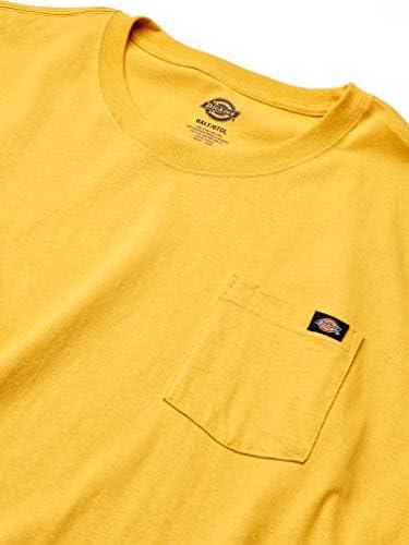 Men's Big & Tall Crew Neck Pocket T Shirt