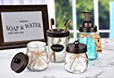 Mason Jar Bathroom Accessories Set - Mason Jar