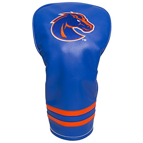(Team Golf NCAA Boise State Broncos Vintage Driver Golf Club Headcover, Form Fitting Design, Retro Design & Superb Embroidery)