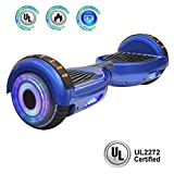 NHT 6.5' Hoverboard Electric Self Balancing Scooter Sidelights -...