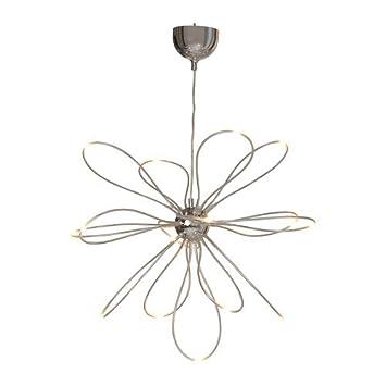 Ikea ONSJO - lámpara LED, Cromado: Amazon.es: Hogar