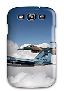 9340216K61231143 Awesome Defender Tpu Hard Case Cover For Galaxy S3- Aircraft