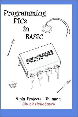 Programming pics in basic 8 pin projects volume 1 chuck programming pics in basic 8 pin projects volume 1 chuck hellebuyck 9781449985752 amazon books publicscrutiny Choice Image