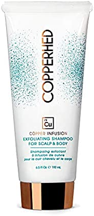 Copper Infusion Exfoliating Shampoo For Scalp & Body Vegan, Paraben & Sulfates-Free Color Safe Superch