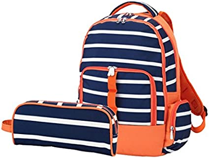 Wholesale Boutique Viv and Lou Line up Backpack and Pencil Pouch School Supplies