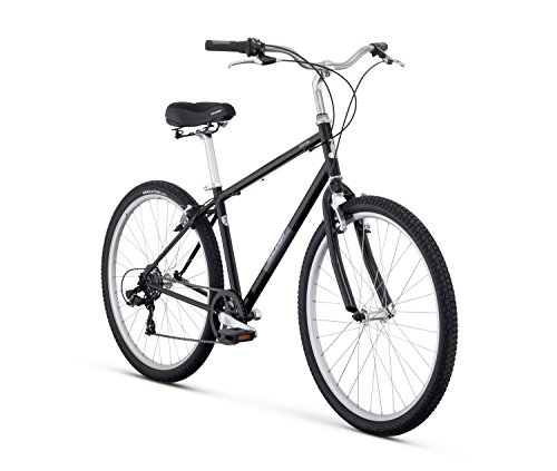 Cheap Raleigh Bikes Venture Comfort Bike, 21″/X-Large, Black