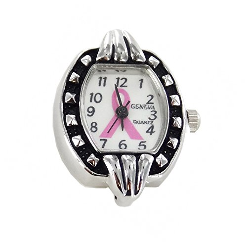 Beading Watch Face Silver Loops - 6