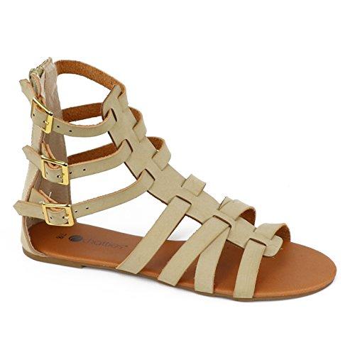 Chatons Femmes 6 Sandales Gladiateur