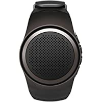 OriDecor Bluetooth Speaker Watch Portable Sports Bluetooth Speaker with Multi Function, MP3 Player & FM Radio & Selfie & Anti-lost & Ultra long Standby Time, Perfect for Running, Hiking, Climbing