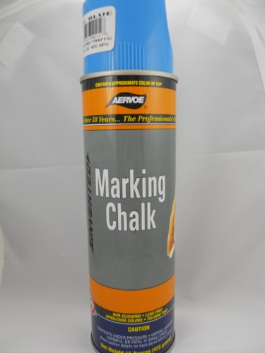 Aervoe Blue Marking Chalk Spray