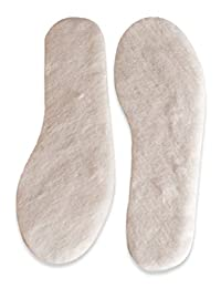 Nordvek Premium Quality Genuine Insoles - Sheepskin Or Lambswool - Adults / Childrens Sizes Available # 499-100