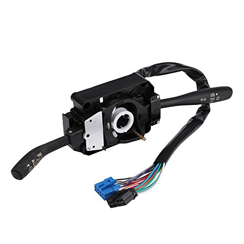 Wiper Column Stalk Switch, Multi-function Combination Switch Turn Signal Indicator and Wiper Control Combination Switch for NPR NPR NQR 8973640740: