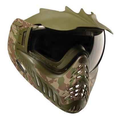 Paintball Goggles Camo (V-FORCE Profiler LTD Thermal Lense Paintball Mask / Goggles - Woodland Camo)