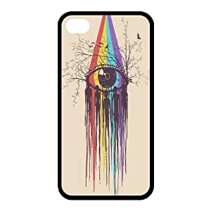 Custom Hipster Owl Back Cover Case for iphone 4,4S JN4S-605 by runtopwell