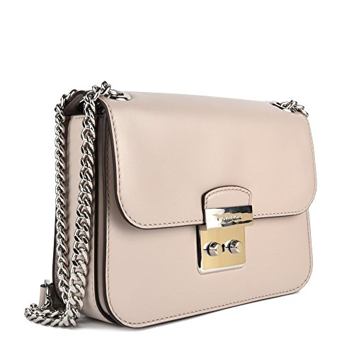 3084a4b42234 MICHAEL by Michael Kors Sloan Editor Cement Grey Crossbody Bag uni Cement   Amazon.co.uk  Shoes   Bags