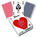 Fournier No. 2800 Poker Size Jumbo Index Playing Cards (Blue)