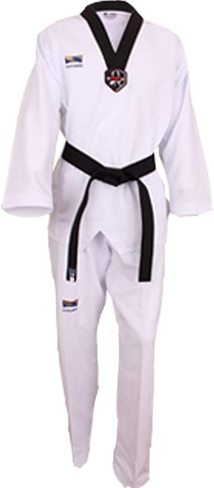 Mooto WTF Poomsae Dan Uniform Male Dobok Korean Taekwondo Uniforms Tae Kwon Do