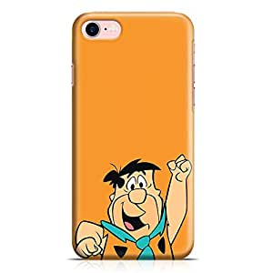 Loud Universe Fred Flintstone iPhone 8 Case Classic Cartoon iPhone 8 Cover with 3d Wrap around Edges