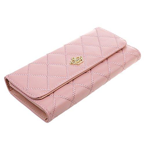 Dames De Mode Sac Style Matelassé Cadeau Fête Embrayage Rose Enveloppe Générique dSP5qd