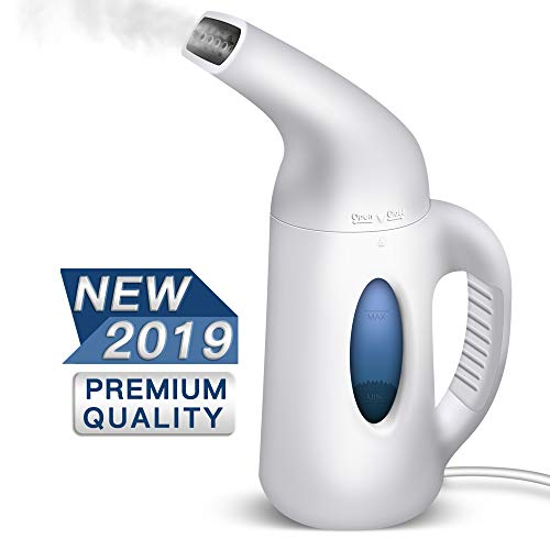 MONOLED Steamer for Clothes, Garment Steamer,120ml Portable 7 in 1 Travel Steamer, Powerful Handheld Fabric Steamer with Fast Heat-up, for Home and Travel