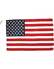 Verenigde Staten Vlag 45x30 cm koorden - USA - US - Amerikaanse SMALL vlaggen 30 x 45 cm - Banner 18x12 in Hoge kwaliteit - AZ FLAG