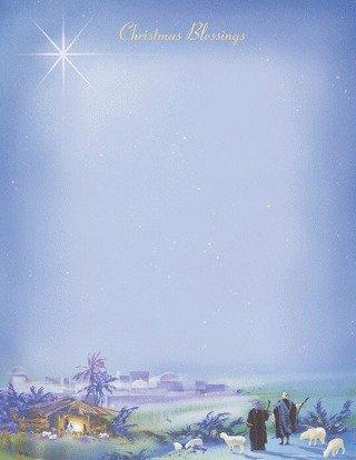 Wonderous Light Stationery - 80 (Christmas Stationery)