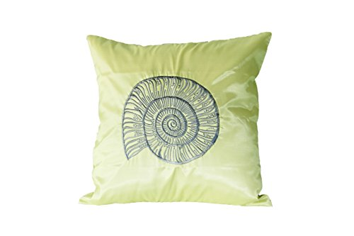 Lotus House Olive Silk Pillowcase - Sea Collection (1, Olive - Sea) by Lotus House