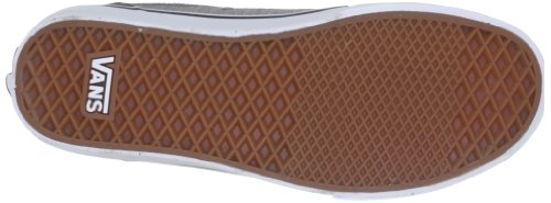 Vans M COLLINS (TEXTILE) MID G - Zapatillas de lona hombre gris - Grau ((Textile) mid g)