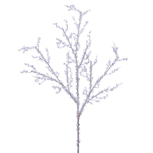 18'' Artificial Iced Branch Stem -Ice (pack of 36)