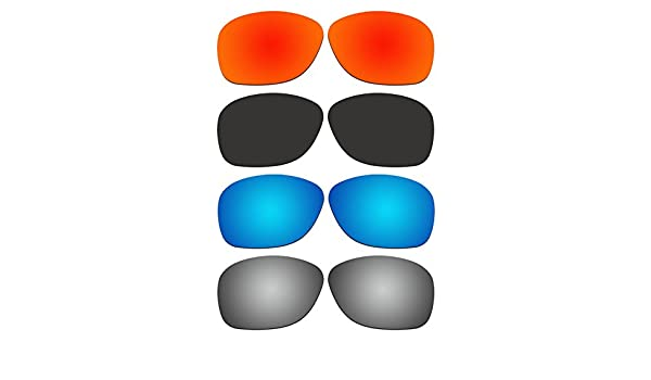 366cf86d04ae Amazon.com   ACOMPATIBLE 4 Pair Replacement Polarized Lenses for Oakley  She s Unstoppable Sunglasses OO9297 Pack P1   Sports   Outdoors
