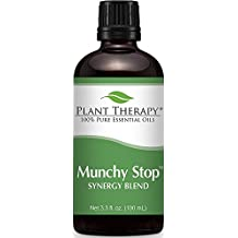 Munchy Stop Synergy Essential Oil Blend. 100 ml (3.3 oz) 100% Pure, Undiluted, Therapeutic Grade. (Blend of: Copaiba Balsam, Pink Grapefruit, Bergamot, Lemon, Ylang Ylang Complete, and Star Anise.)