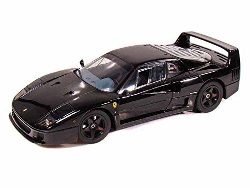 京商 1/18 フェラーリ F40 ライトウェイト ブラック K08412BK 完成品 B001D22TNU