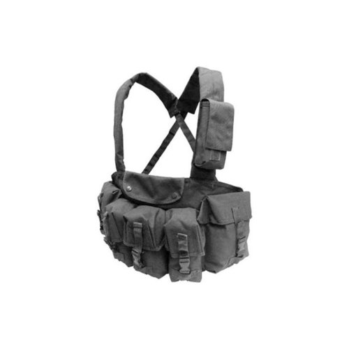 Condor CR Chest Rig with 7 Pouches, Black by Condor Outdoor