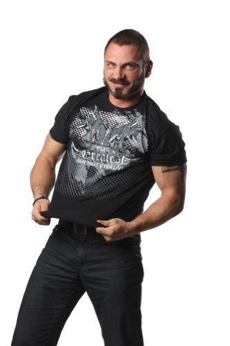 """TNA Austin Aries """"TGMTEL"""" T-Shirt - Small - Black"""
