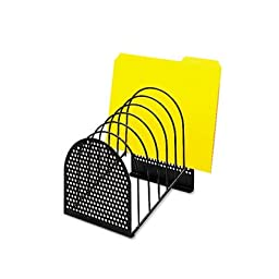 Perf-Ect Step File, Seven Sections, Metal/Wire, 7 x 8 7/8 x 9 3/8, Black, Sold as 1 Each