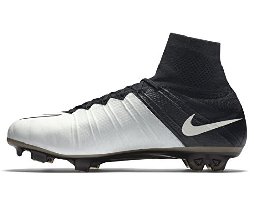 black Superfly Lthr Pour Bone Mercurial De Chaussures Nike Hommes light Black Football Noir Fg E5OFwq