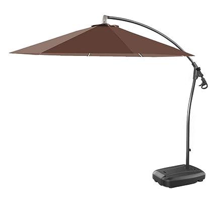 Amazon.com: Parasol paraguas de doble capa, sombrilla grande ...