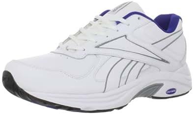 Reebok Men's DMX Max Mania Walking Shoe,Awhite/Grey/Ultramarine/Black,8.5 M US